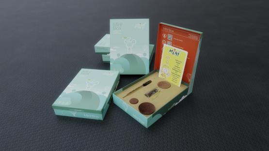 Minì Box: tutto il necessario per curare e fare crescere la tua Minì!